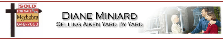 Diane Miniard - Meybohm Realtors Aiken's Real Estate Shoppe - Homes for sale in Aiken